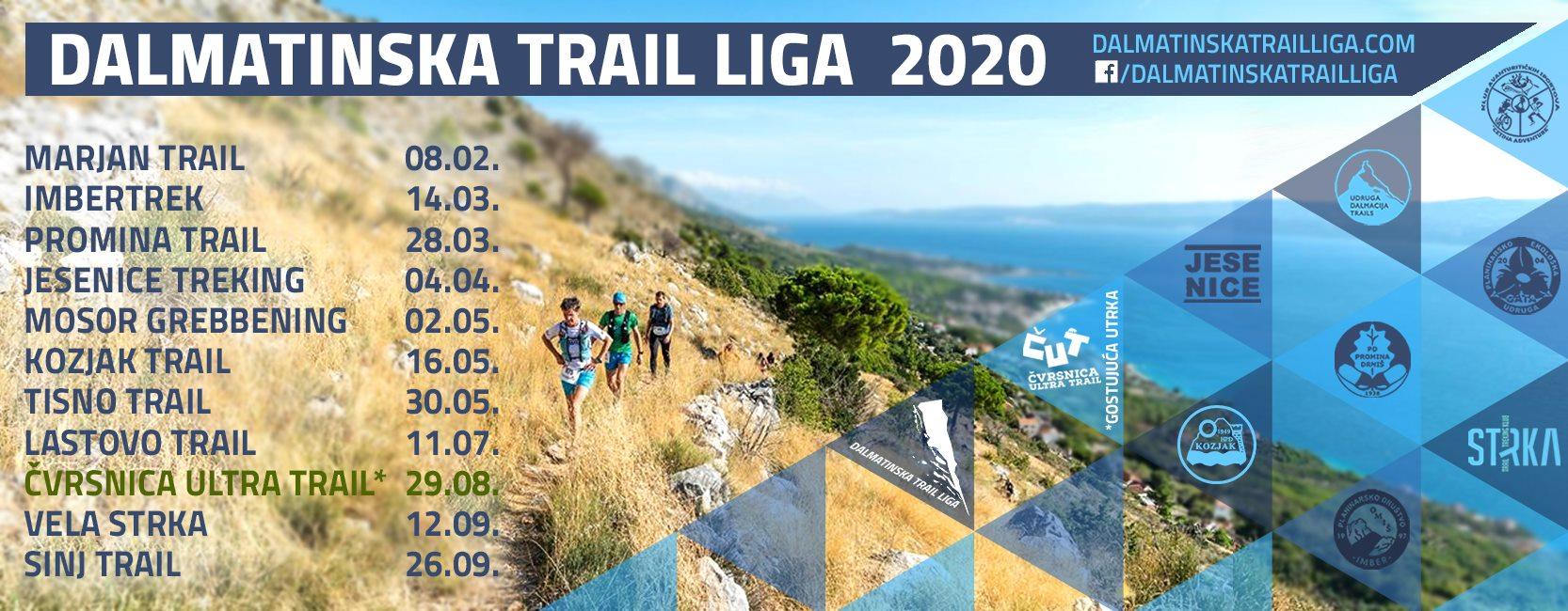 Bit ćemo dio Dalmatinske Trail Lige!