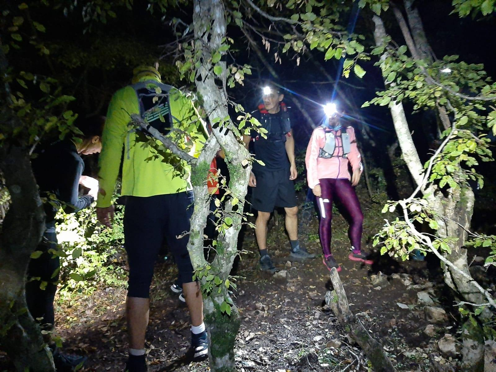 77. trening – Noćna uživancija po Kozjaku..