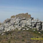ostatci Tvrđave Kuk (Gradina)